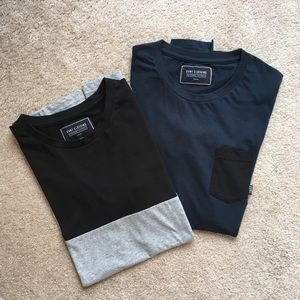 Bundle of 2 DVNT CLOTHING T-shirts